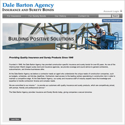 Dale Barton Website Designed by EXPAND