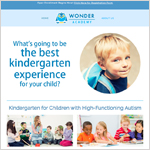 Wonder Academy Website Designed by EXPAND